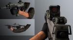 مدل دست و تفنگCZ805